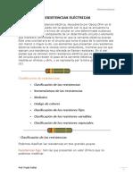 3- RESISTENCIAS ELÉCTRICAS