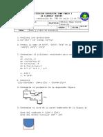 Prueba Grado 8 Suma y Restamonomios Algebra