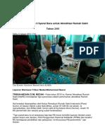 KARS Tetapkan 3 Syarat Baru Untuk Akreditasi Rumah Sakit Vera