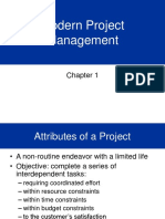 Project Management Overview - Semester 1
