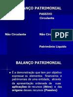 SLIDES BALANÇO PATRIMONIAL COM QUESTÕES.ppt