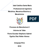 informe manufactura 2