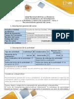 Guía de Actividades y Rúbrica de Evaluación - Tarea 1-Reconocimiento General Del Curso