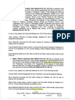 Shroyer Developer Votes (City Meeting Minutes)