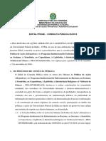 Edital de Consulta Publica Politica Acoes Afirmativas