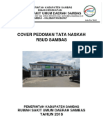 Cover Pedoman Tata Naskah