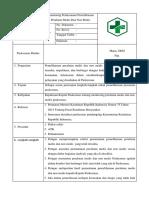 3. Monitoring Pelaksanaan Pemeliharaan Peralatan Medis Dan Non Medis