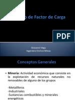 4.3 Calculo de Factor de Carga