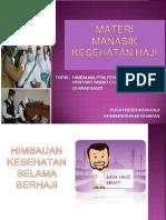 Materi Penyuluhan Haji