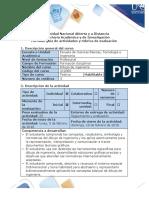 Guia de Actividades y Rubrica de Evaluacion Fase 0 Pre-tarea Generalidades Del Dibujo de Ingenieria