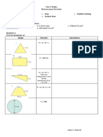 Revision Checklist Booklet Differentiated