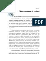 Modul 1 Manajemen Dan Organisasi (Repaired)