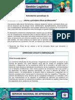 Evidencia 7 Ficha Valores Principios Eticos Profesionales