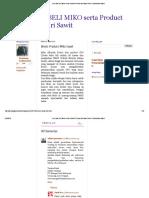 JUAL Dan BELI MIKO Serta Product Turunan Dari Sawit_ Bisnis Product Miko Sawit