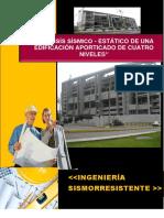 ANALISIS SISMORESISTENTE - ESTRUCTURA PORTICOS 4 PISOS