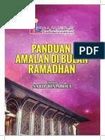 Panduan Amalan Di Bulan Ramadhan