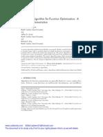 A Genetic Algorithm for Function Optimization- A Matlab Implementation
