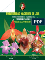 """Géneros y especies del jardín botánico """"Reinaldo Espinosa""""(2011)"""