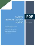 FIN036 Assignment
