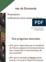 NOC ECO 1 La Economia Como Campo de Disputa