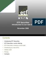 ETFSPresentationNewETFs