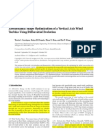 3D CFD Analysis of a Vertical Axis Wind Turbine