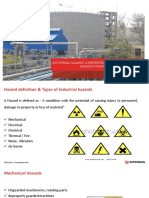 PPT on Industrial Hazards and Safe Handling of Hazardous Materials