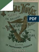Follas Novas 1880 Rosalía Castro de Murguía