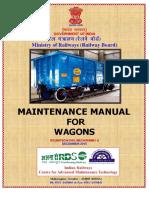 Revised Wagon Maintenance Manual