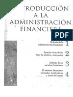 Introduccion a La Administracion Financiera