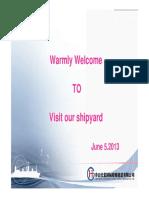 ChangHong International Shipyard Presentation