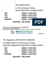 VA an. Edi Rubiyanto Dan Kel-1