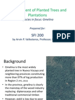 Management of Trees and Plantations_ Gmelina_part 1