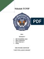 Tugas Makalah TCP IP Jaringan Dasar