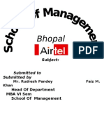Project Report on Airtel Faiz