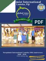 SI Lautoka, Fiji 10th anniversary magazine