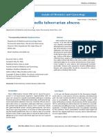 Salmonella Tuboovarian Abscess