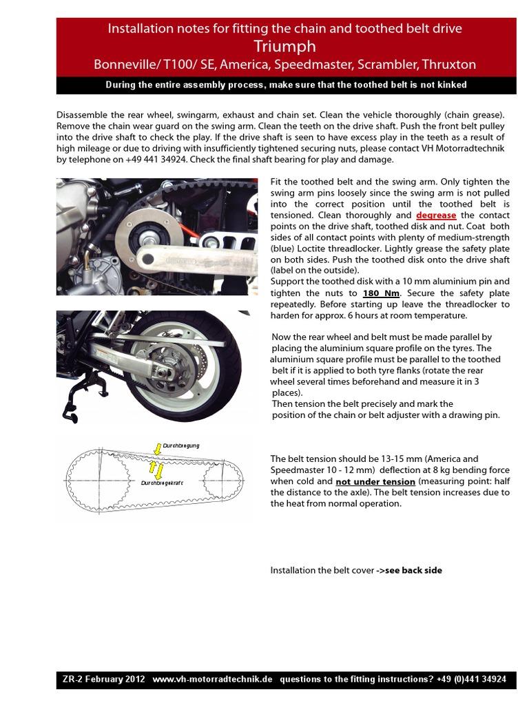 Triumph-Bonneville-T100-SE-etc_eng_ pdf | Belt (Mechanical