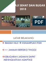 Materi Haji Sehat 2018