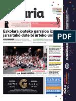 045. Geuria aldizkaria - 2018 urria