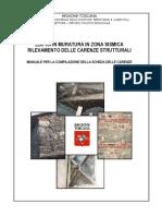 Allegato 2 Edifici in Muratura in Zona Sismica Rilevamento Delle Carenze Strutturali Regione Toscana