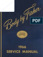 1966 Fisher Body Manual