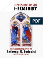 Confessions of an Anti-feminist - Ludovici