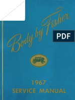 1967 Fisher Body Manual