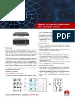 HUAWEI USG6600 Series Next-Generation Firewall Brochure