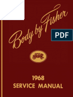 1968 Fisher Body Manual