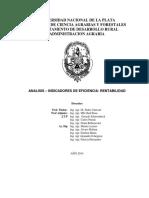 Enviando Analisis de Eficiencia y Rentabilidad - Margen Bruto - UNP