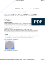 Xs Chamfer Accuracy Factor