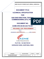 Acme-kr1-01-Ee-224-Ts-001_r0 Bay End Etc_technical Specification