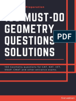 Kitabees 100 Geometry Questions File Solutions